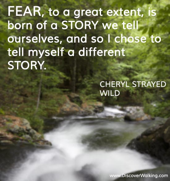 Fear Quote Cheryl Strayed - Wild