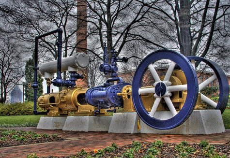 Georgia Tech Steam Engine