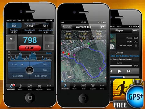 iphone pedometer gps app