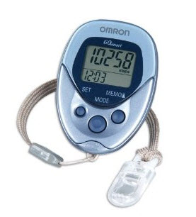 Omron HJ-112 Pedometer Review