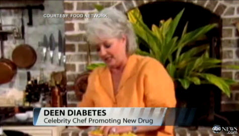 Paula Deen - Food Network Chef Has Diabetes