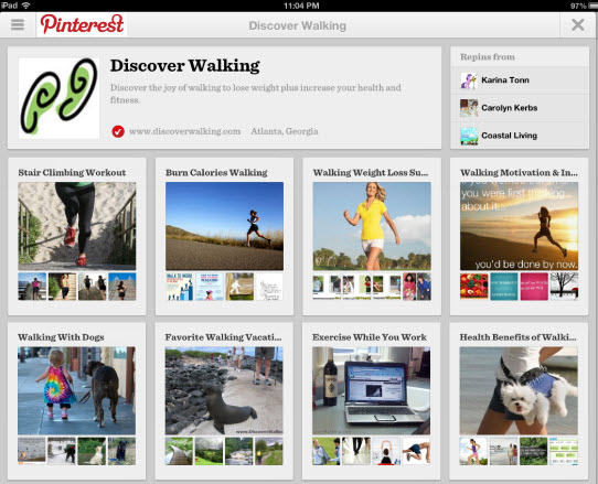 Pinterest Boards Search Visually