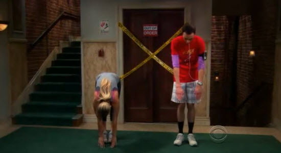 Sheldon and Penny Exercise