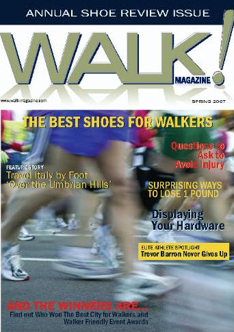 Discover Walking Article in Walk Magazine