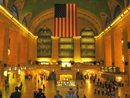 Walking Grand Central Station