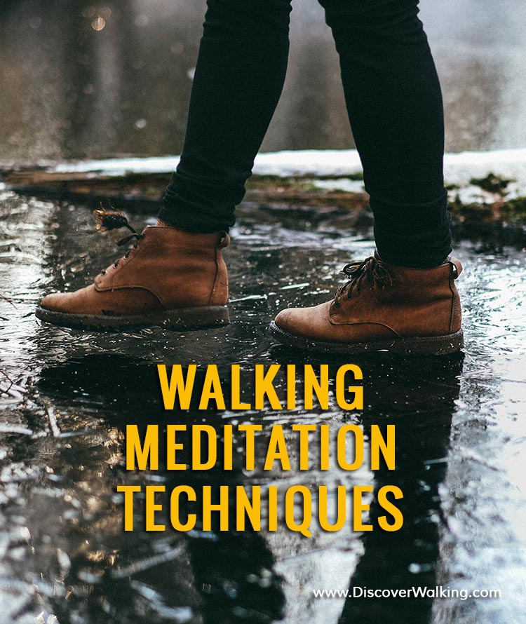 Discover meditation walking techniques