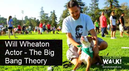 Will Wheaton on The Benefits of Walking Your Dog