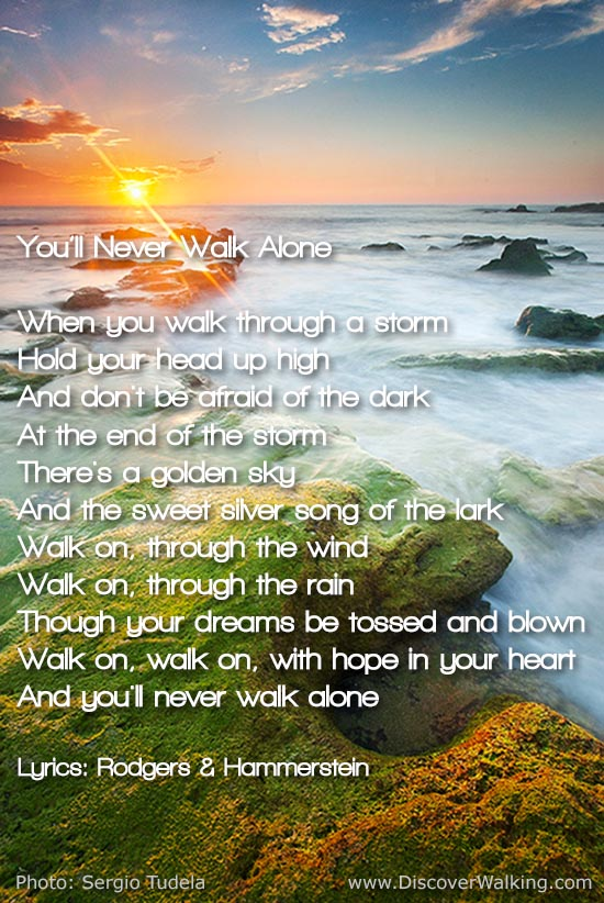 You'll Never Walk Alone Lyrics - Carousel - Rodgers Hammerstein
